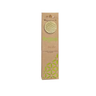 Räucherkegel Organic Cannabis 12 Stck mit Keramikhalter