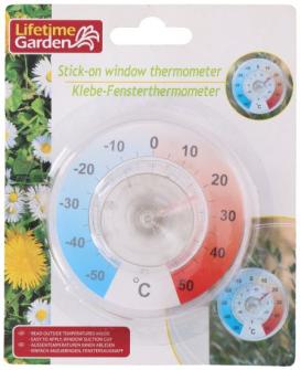 Fensterthermometer mit Saugnapf 9cm