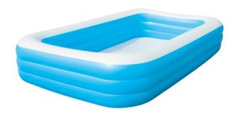 Pool 3 Ringe 305x183x56cm