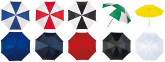 Regenschirm Golf Holzgriff 10ass