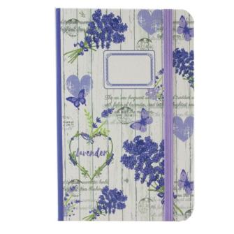 Notizbuch Lavendel A6