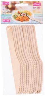 Messer Holz 12 Stk 16cm