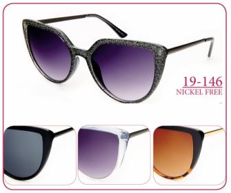 Sonnenbrille Damen 19-146 4ass
