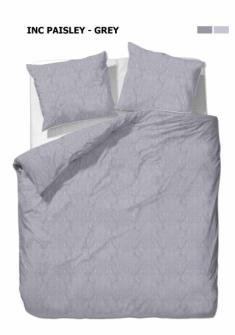 Bettgarnitur Paisley grau 200x210cm + 65x65cm (2) 60% Cotton 40% Polyester