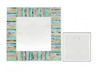 Spiegel Mosaik 38x38cm quadratisch BALI