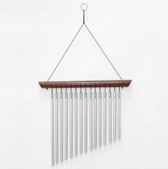 Windspiel Holz/Metall 44cm BALI