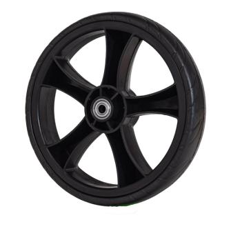 Ersatzrad gross schwarz für Einkaufswagen