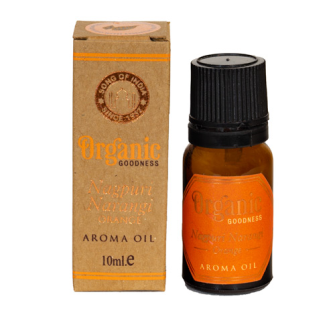 Duftöl Organic 10ml Orange INDIEN