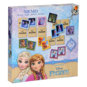 Frozen Memory Spiel Holz 28tlg