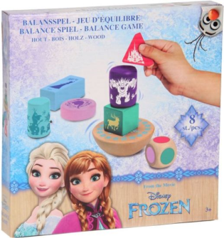 Frozen Balance Spiel Holz 8tlg