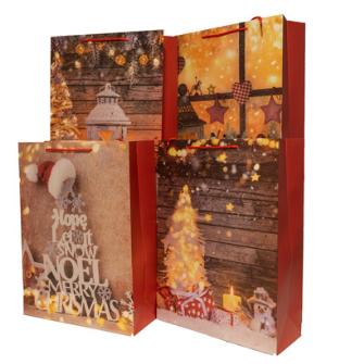 Geschenktasche Weihnachten Stillleben 31x42x12cm