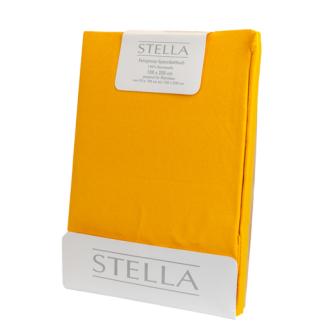 STELLA Fixleintuch-Jersey 90x200 Yellow/Curry