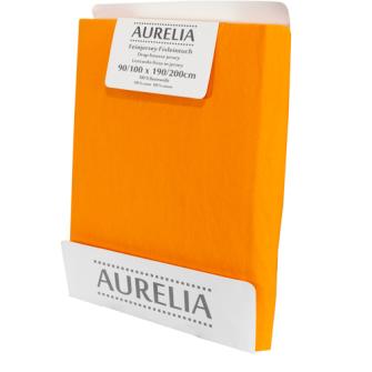 AURELIA Fixleintuch-Jersey 90x200 Orange