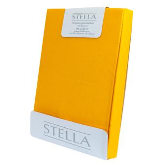 STELLA  Fixleintuch-Jersey 180x200 Yellow/Curry