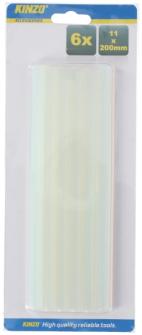 Klebestifte für Klebepistole 123273 6 Stk 11x200mm