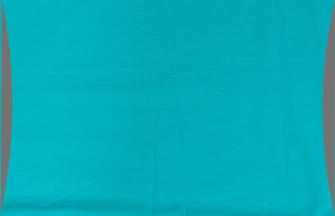 Bettgarnitur uni Kissenbezug 50x70cm grau und blau 100% Baumwolle