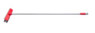 Bodenschrubber mit Abzieher Metallstiel 130cm 25cmx5cm