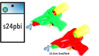 Wasserpistole 2 Farben ass 15.5cm