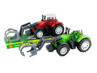 Traktor 2 Farben ass 33x14x11.5cm