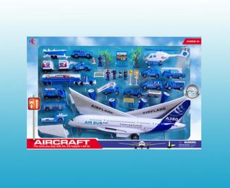 Spielset Flughafen 30tlg  67x43.4x8.5cm