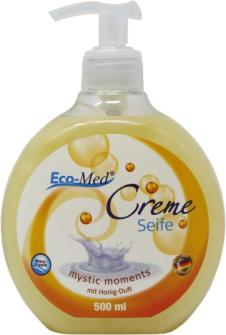 Cremeseife Mystic Moments Honig Duft 500ml ohne Mikroplastik
