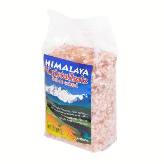 Himalaya-Speisesalz rosa 1kg Granulat im PE-Beutel Madal Bal Eti. (VE 6)