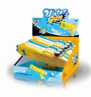 Wasserpistole 3 Farben ass. 26x3.8x14cm 6 Stk im Display