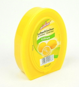 Airline Lufterfrischer Gel 150 g Citrus