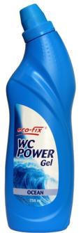 EcoFix WC Reiniger POWER GEL 750 ml Ocean
