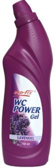 EcoFix WC Reiniger POWER GEL 750 ml Lavendel