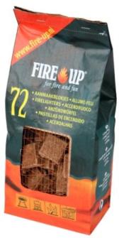 Grillanzünder 72er-Pack für Cheminée, Kamine, BBQ-Grills  Ecco