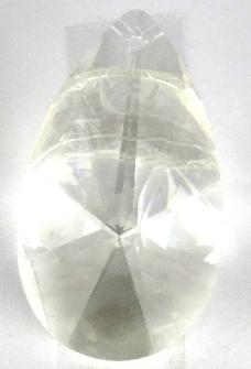 Kristallglas Mandel 50mm Stern-Schliff