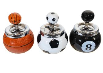 Aschenbecher Ball Keramik ass zufällig gemischt