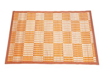 Teppich Karo Bambus 60x90cm