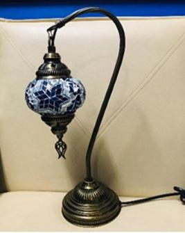 Mosaik Tischlampe hängend h37cm Diam. 10cm Türkei ass