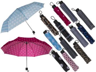 Taschenregenschirm 87cm 12ass