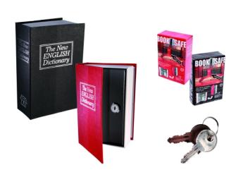 Safe mit Schlüssel Wörterbuch 19x11.5x5.4cm 2ass im Geschenkkarton