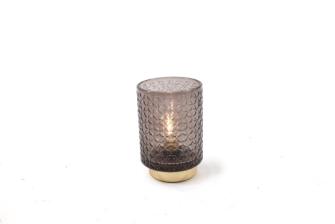 Lampe Glass grau 10x15cm