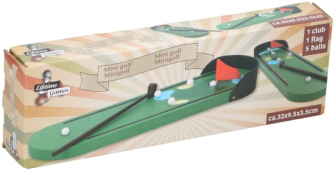 Minigolf 31.5x9.5cm Holz