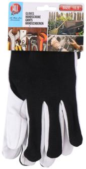 Handschuh Arbeits-/Gartenhandschuhe schwarz 24.5x10.5cm