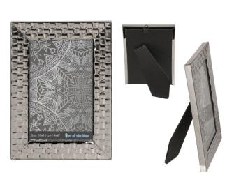Bilderrahmen Silber Square 10x15cm Metall