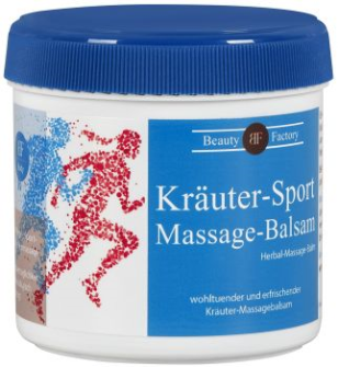 Creme BF Sport Massagebalsam Kräuter, 200ml