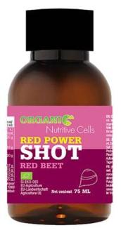 "Bio Shot ""Red Power!"" Rote Bete 75ml in Glasflasche"