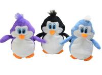 Plüschtier Pinguin stehend gestickte Augen 3ass 25cm