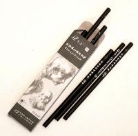Kohlestifte 12erSet, 17.5 cm
