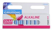 Batterien LR6 AA 12 Stk Grundig Alkaline