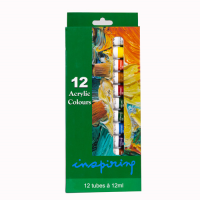 Farben Acryl 12erSet 12ml
