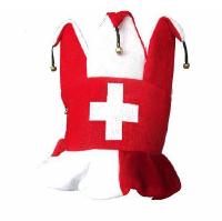 Schweiz Hut Joker m. Glöckchen